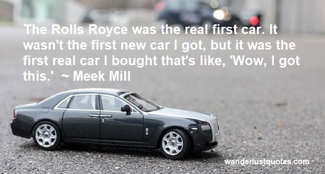 a Rolls Royce quote