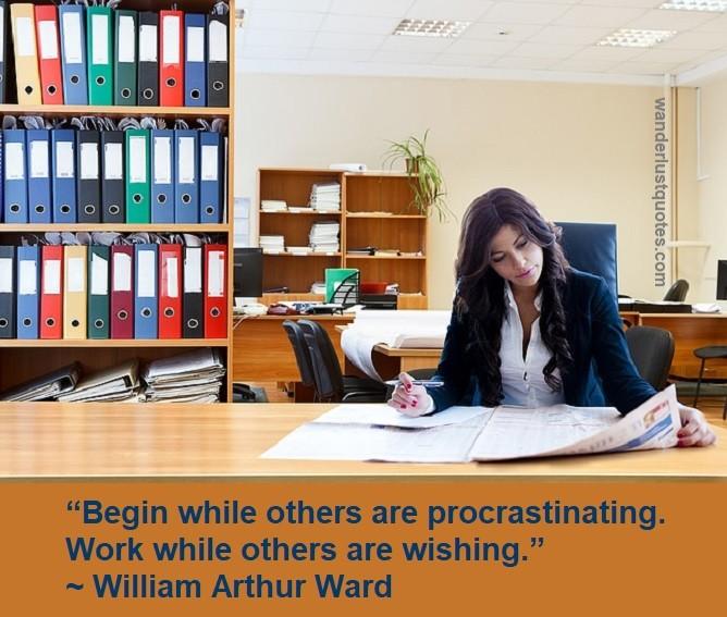procrastinate quote