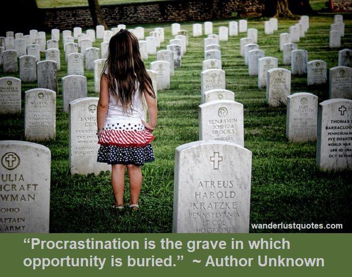 procrastinate quotes