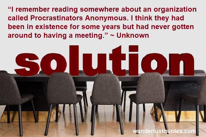 procrastinator quotes