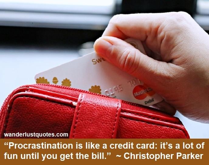 procrastination quote