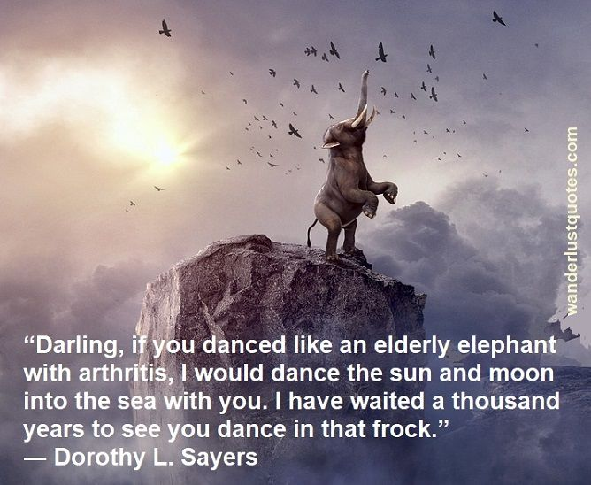 Dorothy L. Sayers quote