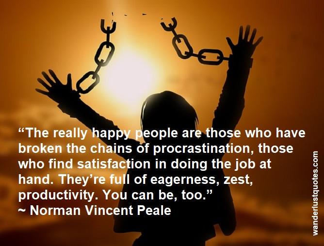 freedom of procrastination