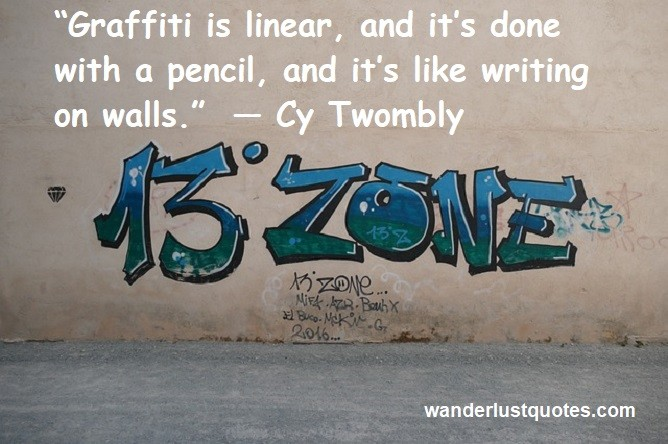 graffiti quote writing