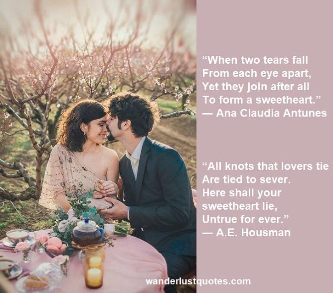 sweetheart poems