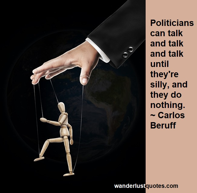 silly politician quote