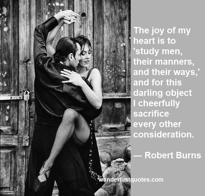 Robert Burns quote