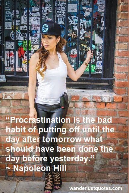 procrastinator quote