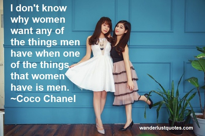 why quote women